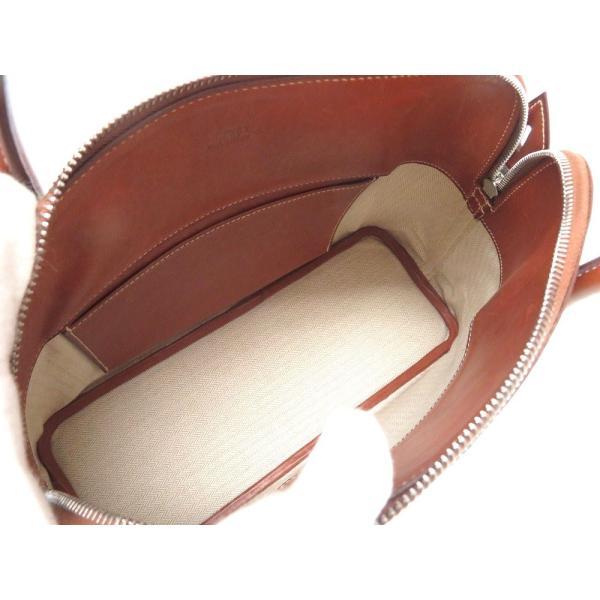 エルメス ボリード31 クリノラン ヴォーバレニア □D刻印(2000年製) ハンドバッグ バッグ 0071    HERMES