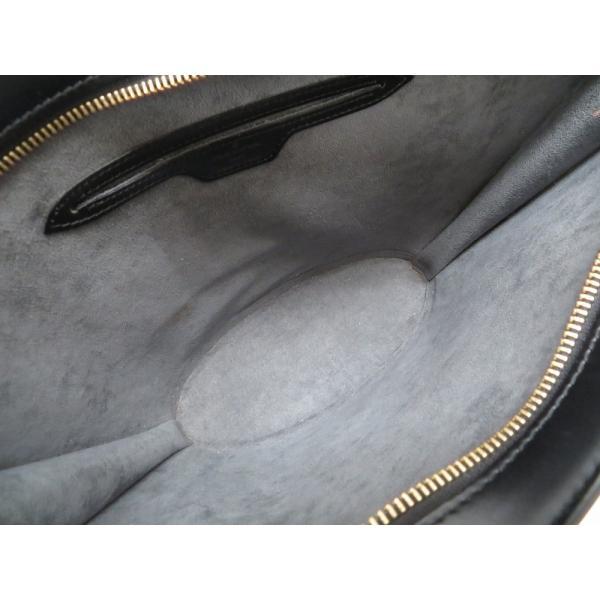 新品同様 ルイ ヴィトン エピ サンジャック ブラック M52272 ハンドバッグ バッグ 黒 LV 0164 LOUIS VUITTON