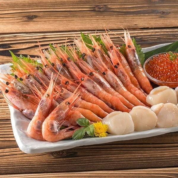 北海道 カネコメ田中水産 ほたて・えび・いくらセット 21-1028-23 産地直送 食品 海鮮 魚介 詰め合わせ グルメ ギフト 贈りもの