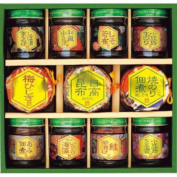 お中元 2021 ギフト 安田の佃煮 小豆島から (SN−30−S) 送料込み 瓶詰 惣菜 御中元 ギフト セット メーカー直送