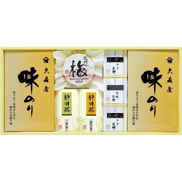 香味彩々 (NK−40F) 味海苔 海苔 のり 梅干し 日本茶 ギフト 御礼 内祝い 快気祝 ご法事 香典返し