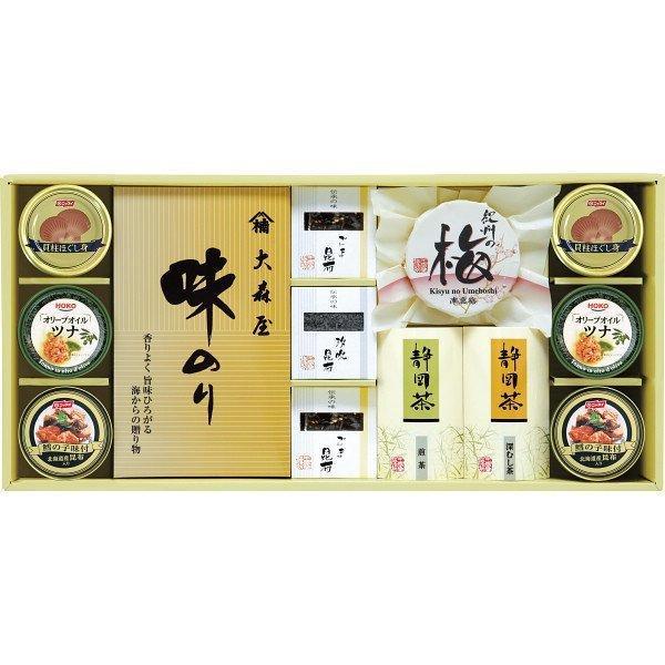 香味彩々 (NK−80FW) 味海苔 海苔 のり 梅干し 日本茶 ギフト 御礼 内祝い 快気祝 ご法事 香典返し