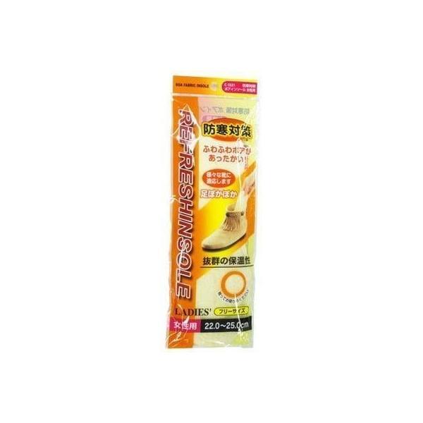 サナダ精工 4984324015215 防寒対策 ボアインソール 女性用 CN-1521【360個セット】