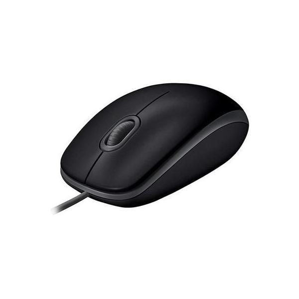 LOGICOOL M110 静音マウス M110sBK ブラックの画像