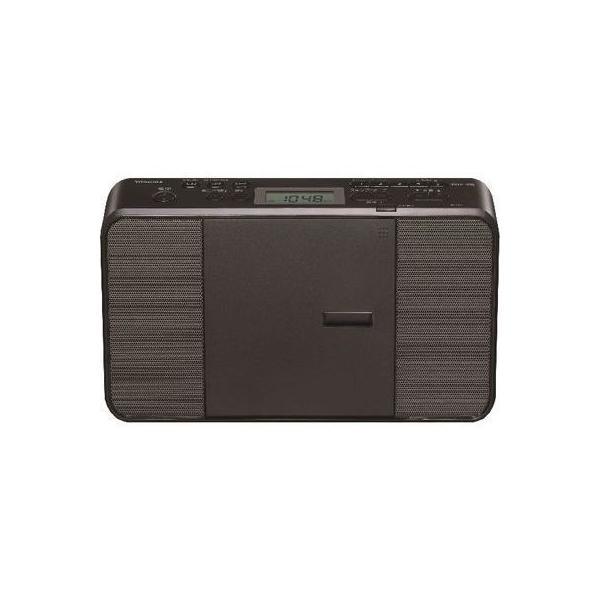 【納期目安:約10営業日】東芝 TY-C251-K CDラジオ ブラック (TYC251K)