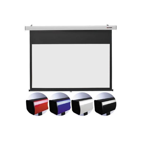【納期目安:2週間】キクチ SS-80HDWA/B 16:9ワイドスプリングローラータイプ80インチスクリーン「Stylist SR」 (SS80HDWA)(青) (SS80HDWA/B)