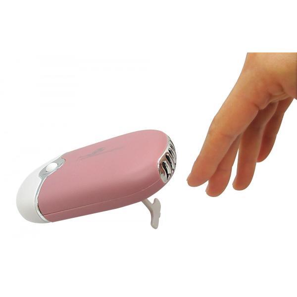 USB充電式 つけまつげやネイルの乾燥に 小型ファン 卓上扇風機 手持ちファン ハンディファン ミニファン コードレス  携帯扇風機 オフィス 軽量 おしゃれ prdwc|lifemaru|02