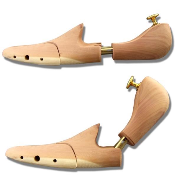 シューズキーパー 天然木を使用 消臭・除湿・型崩れ防止に!  メンズ シューキーパー ビジネスシューズ ブーツ  紳士靴