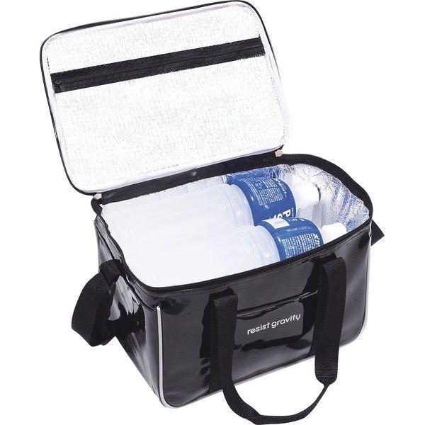 エナメルクーラーバッグ H2602  保冷バッグ クーラーボックス トートバッグ  ショルダーバッグ デイパック アウトドア 収納 おしゃれ bag shiragiku|lifemaru|02