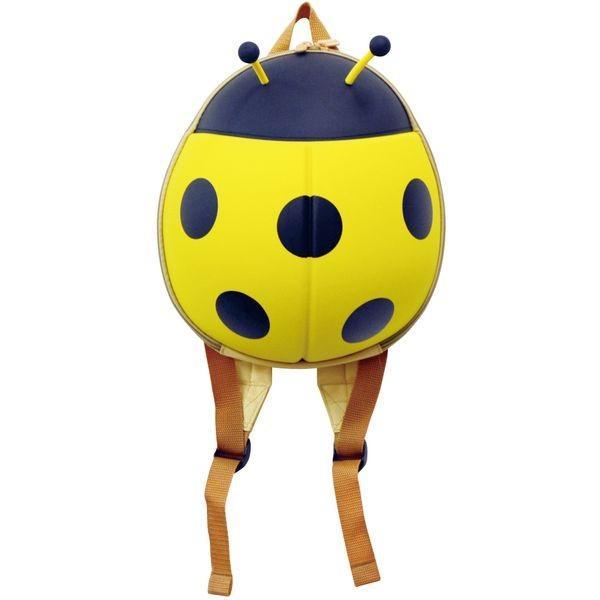 レディバグ てんとうむし バックパック 黄/赤 全2色 子供向け おもちゃ かわいい 男の子 女の子リュックサック bag コンパクト カジュアル 収納 おしゃれ 旅行 lifemaru