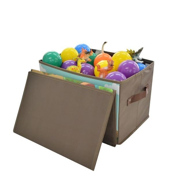 トイプレイボックス(ダイナソー)男の子向き 子供部屋 収納ボックス おままごと お片付け おもちゃ箱 かわいい おしゃれ 家具|lifemaru|03