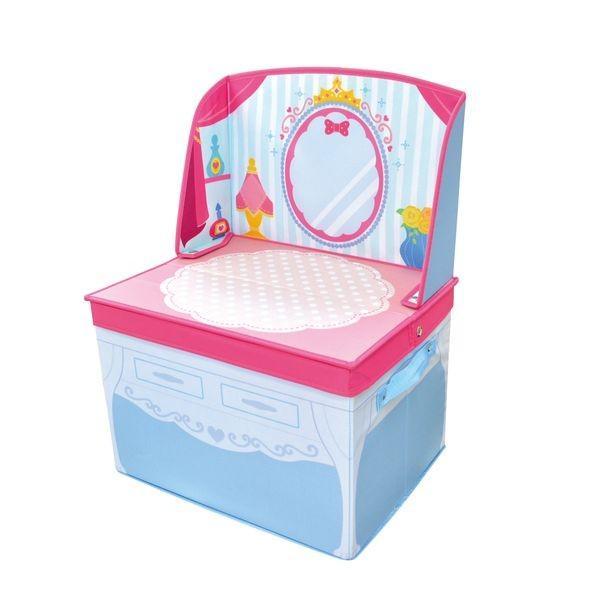 ままごと 収納 ボックス (ドレッサー)女の子向き 子供部屋 収納 おままごと お片付け おもちゃ箱 かわいい おしゃれ 家具|lifemaru