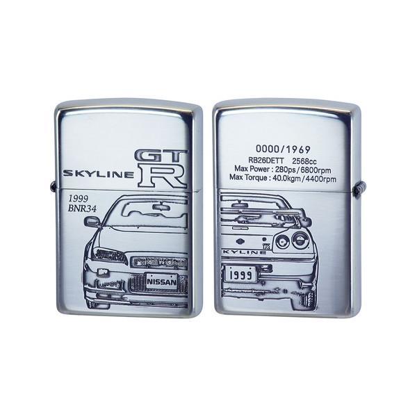 スカイライン GT-R BNR34 ジッポライター ZIPPO 人気 ブランド