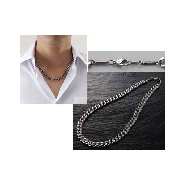 磁気ネックレス チタンネックレス おしゃれ 男性 医療用磁気ネックレス メンズ 日本製 純チタン 極太 喜平 永久 磁石 正規品