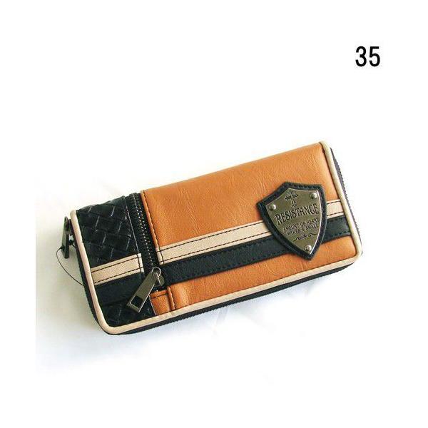 90261a61971b 財布 メンズ 長財布サイフさいふ ブランド ラウンドファスナー ラウンドジップ 長財布 財布 安い 人気 ...