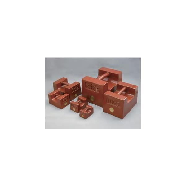 村上衡器 鋳鉄製 まくら型分銅(分銅単品) M1級 20kg