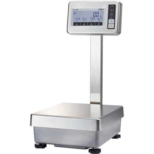 新光電子 高精度電子台はかり HJKRシリーズ 【校正分銅内蔵タイプ】 HJ33K0.1TR (秤量:33kg)