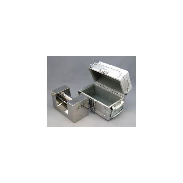 村上衡器 ステンレス製 まくら型分銅(ケース入り) M2級 + JCSS質量校正ランク5 1kg