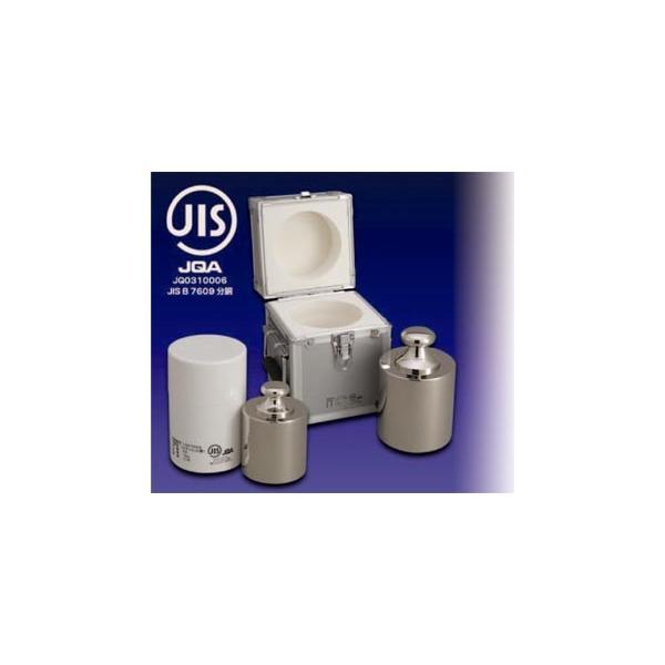 大正天びん(新光電子) JISマーク付 基準分銅型円筒分銅 (非磁性ステンレス) F1級(特級) 2kg F1CSB-2KJ