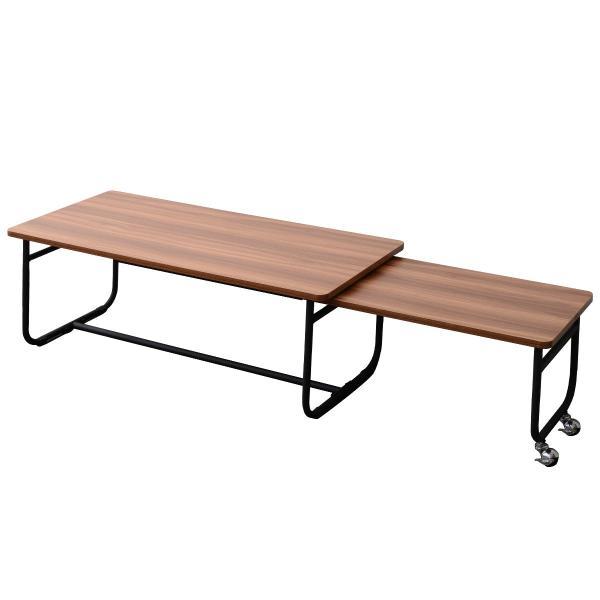 ローテーブル センターテーブル リビングテーブル 木 木製 北欧 シンプル 長方形 Fngoシリーズ おしゃれ 伸縮テーブル テレビ台 送料無料|lifestyle-funfun|12
