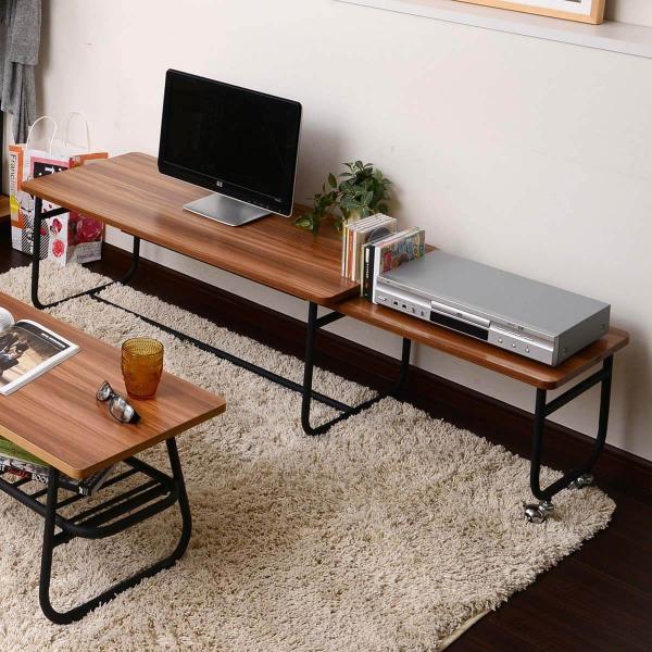 ローテーブル センターテーブル リビングテーブル 木 木製 北欧 シンプル 長方形 Fngoシリーズ おしゃれ 伸縮テーブル テレビ台 送料無料|lifestyle-funfun|13