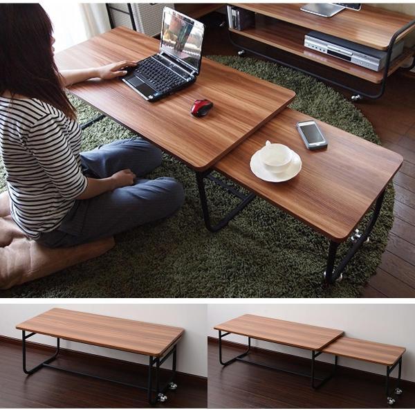 ローテーブル センターテーブル リビングテーブル 木 木製 北欧 シンプル 長方形 Fngoシリーズ おしゃれ 伸縮テーブル テレビ台 送料無料|lifestyle-funfun|07