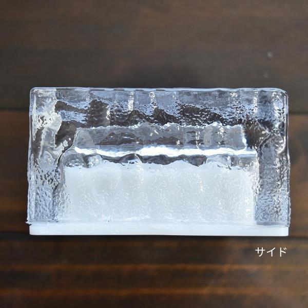クーポンで5%OFF LED ガーデンソーラーライト 2個セット 5色 ソーラー充電式 センサー ウォールライトブロックライト ガラス 玄関 庭 防滴 照明 lifestyle-funfun 04
