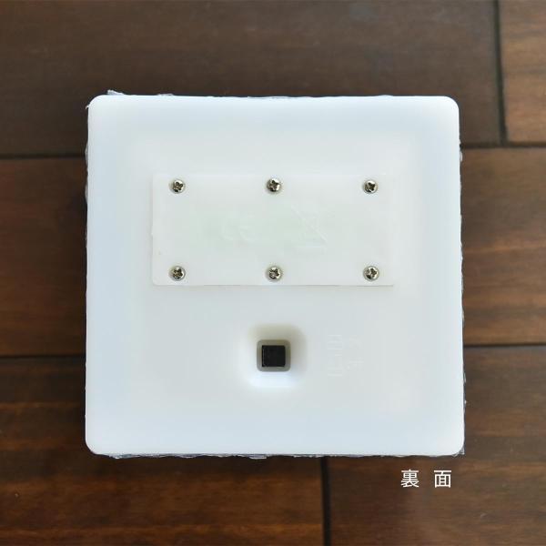 クーポンで5%OFF LED ガーデンソーラーライト 2個セット 5色 ソーラー充電式 センサー ウォールライトブロックライト ガラス 玄関 庭 防滴 照明 lifestyle-funfun 05