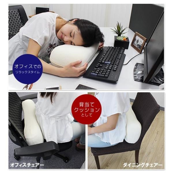 お昼寝枕 うたた寝クッション デスク 枕 type-6 低反発枕 足枕|lifetime|06