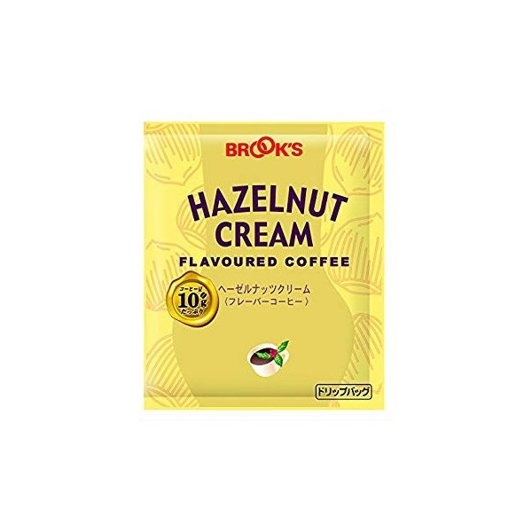 ブルックス ヘーゼルナッツクリーム 10g×20袋 ドリップバッグコーヒー フレーバーコーヒー 珈琲 BROOK'S BROOKS|lifull|02