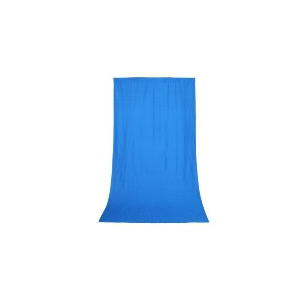 撮影背景 背景布・バックグランドクロス ブルー(1.5x2.8m)