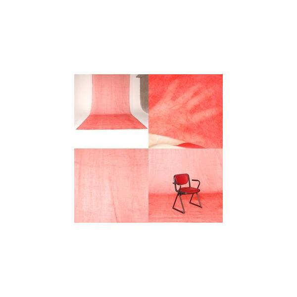 撮影背景 背景用不織布バックグランドペーパークロス 赤(3x6m)