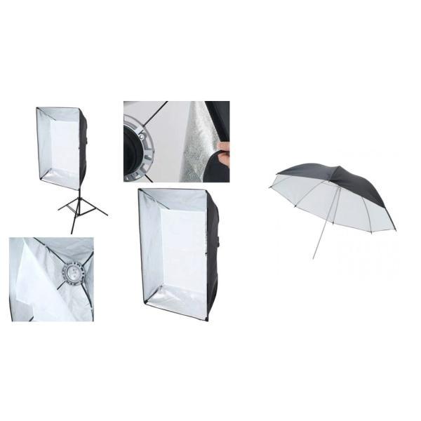 撮影機材 撮影照明ハイスペック600Wデジタルストロボ2灯フルセットST60002FULL