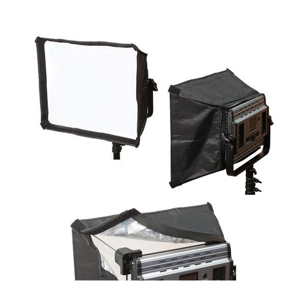 撮影機材 LED照明1200用ソフトボックス