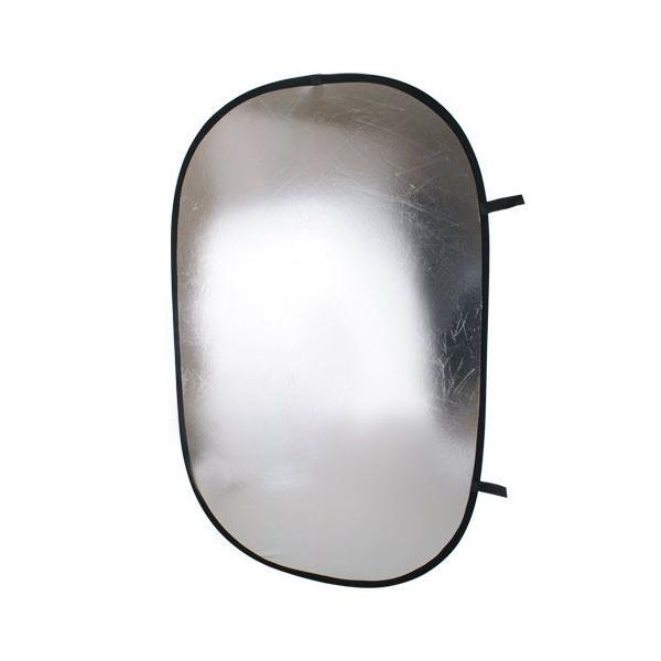 撮影機材 撮影用品 レフ板 102×168cm銀/白