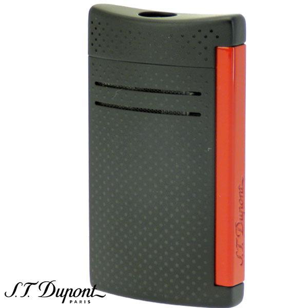 S.T.Dupont エス・テー・デュポン マキシ・ジェット ターボ バーナーフレーム ライター マットブラック&レッド【送料無料】