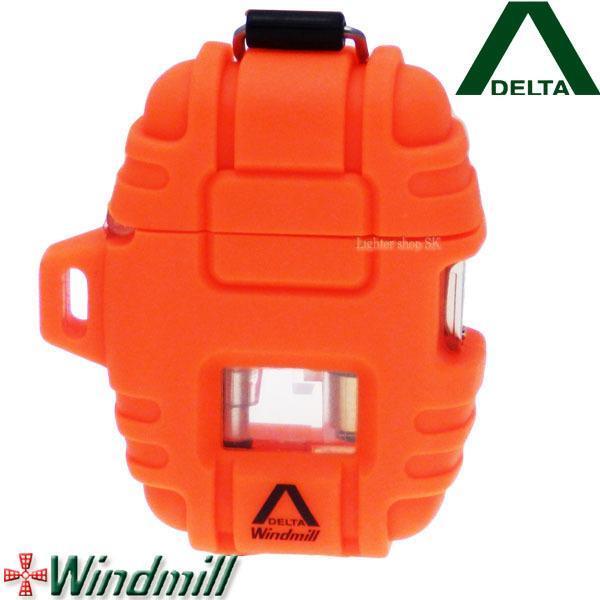 Windmill DELTA ウインドミル デルタ ターボライター ブレイズオレンジ【日本製】【送料無料】