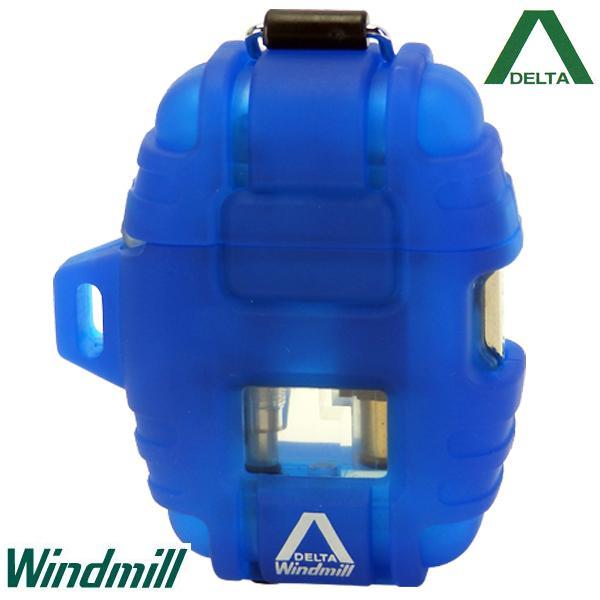 Windmill DELTA ウインドミル デルタ ターボライター ブルー【日本製】【送料無料】