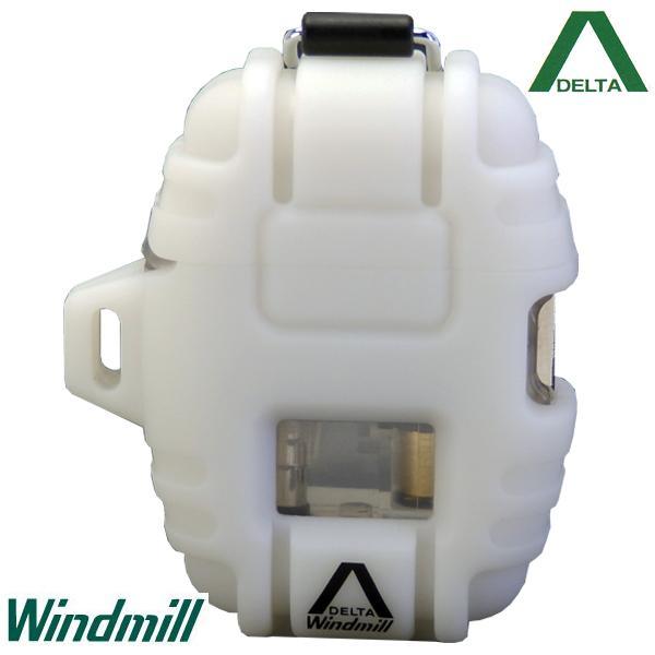Windmill DELTA ウインドミル デルタ ターボライター ホワイト【日本製】【送料無料】
