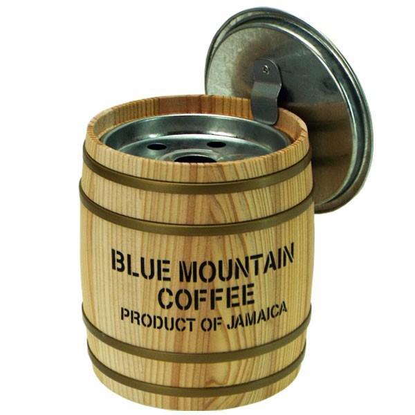 卓上灰皿 杉材(天然素材)HiHi バレル(樽)形灰皿