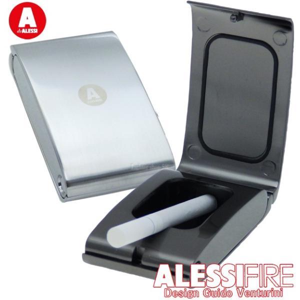 アレッシィ フリップ 携帯灰皿 ALESSI FIRE Flip【多少傷あり】【オリジナルパッケージは外して本体のみお送りします】【ネコポス対応商品/日時指定不可】