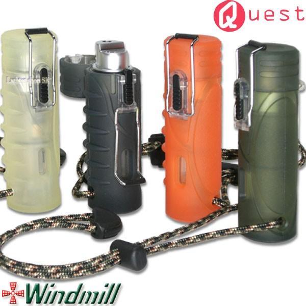 Windmill Quest ウインドミル クエスト ターボライター ストラップ付【耐風・耐衝撃・生活防水機能搭載】