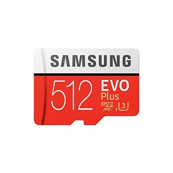SAMSUNG microSDXC 512GB Class10 U3 4K対応 R:100MB/s W:90MB/s UHS-I EVO P lightlyrow 02