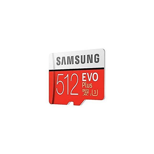 SAMSUNG microSDXC 512GB Class10 U3 4K対応 R:100MB/s W:90MB/s UHS-I EVO P lightlyrow 14
