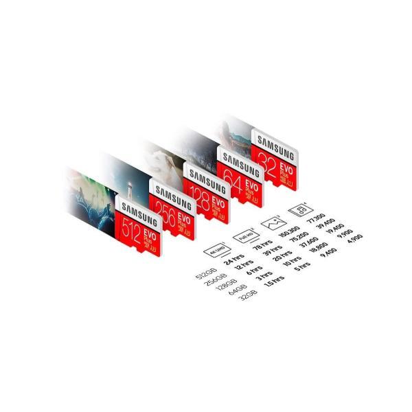 SAMSUNG microSDXC 512GB Class10 U3 4K対応 R:100MB/s W:90MB/s UHS-I EVO P lightlyrow 03