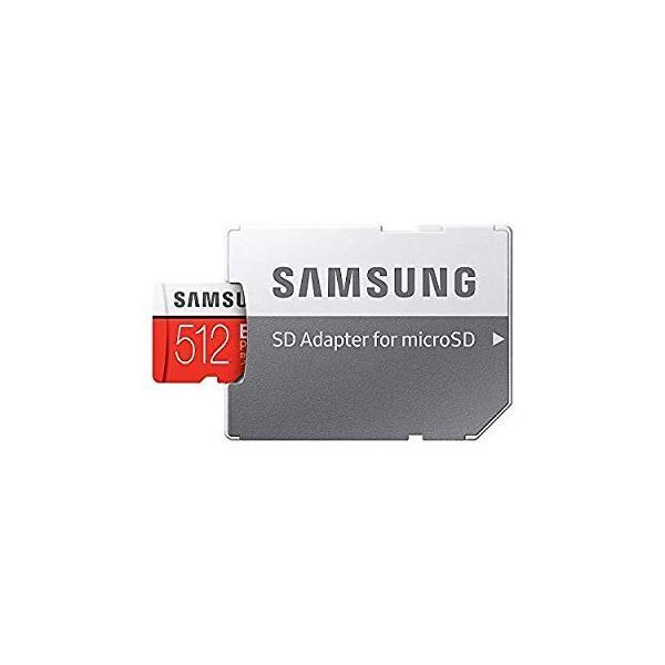 SAMSUNG microSDXC 512GB Class10 U3 4K対応 R:100MB/s W:90MB/s UHS-I EVO P lightlyrow 04