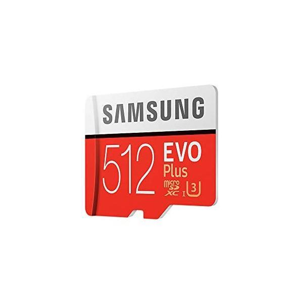 SAMSUNG microSDXC 512GB Class10 U3 4K対応 R:100MB/s W:90MB/s UHS-I EVO P lightlyrow 07