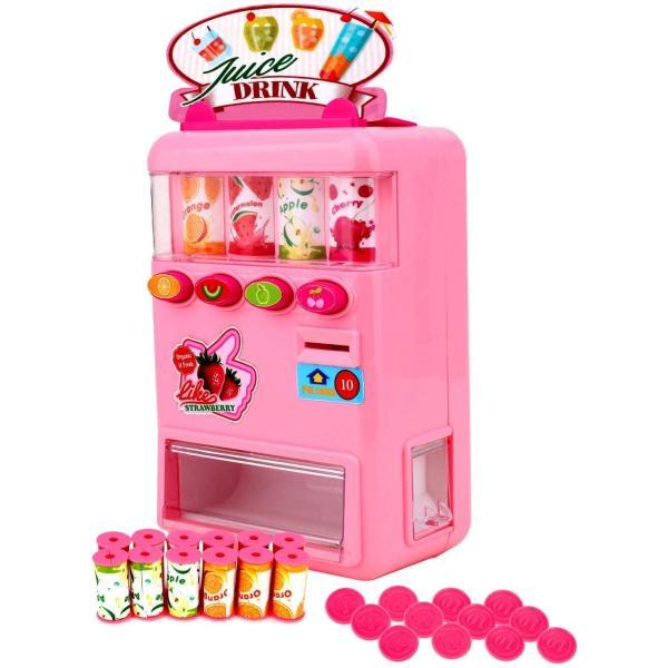 FlyCreat 自動販売機おもちゃ お店屋さん ジュースちょうだい 子供 こども おもちゃ 自販機 飲料機 飲料自動販売機 自動販売機 ふ|lightlyrow|13