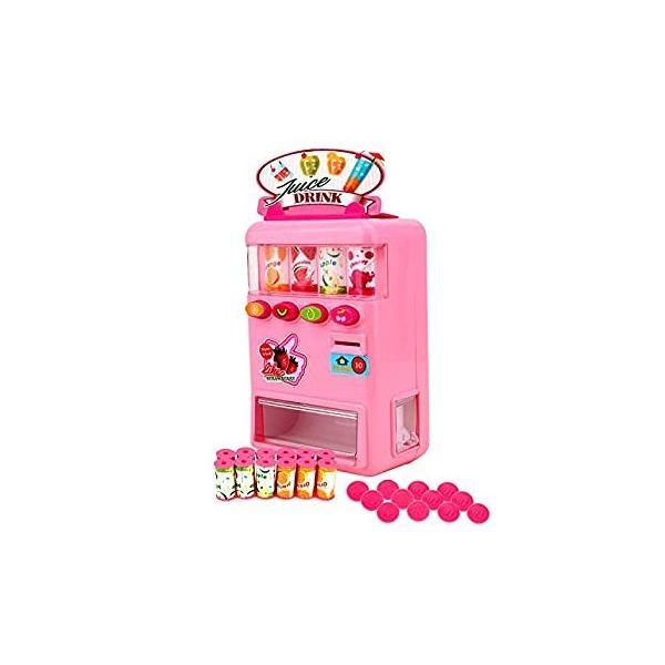 FlyCreat 自動販売機おもちゃ お店屋さん ジュースちょうだい 子供 こども おもちゃ 自販機 飲料機 飲料自動販売機 自動販売機 ふ|lightlyrow|06