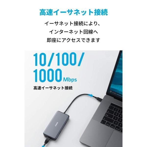 Anker PowerExpand+ 7-in-1 USB-C PD イーサネット ハブ4K対応HDMI出力ポート / 60W出力 Powe lightlyrow 05